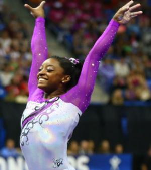 15 - Simone Biles (USA, Gymnastique)
